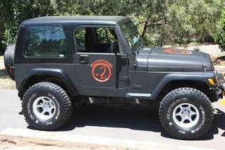 Jeep Matt Black Wrap