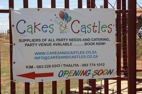 cakes and castles banners