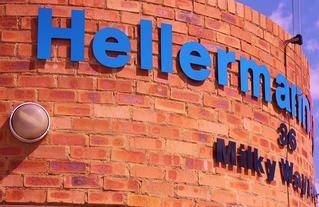 outside signage hellermann tyton